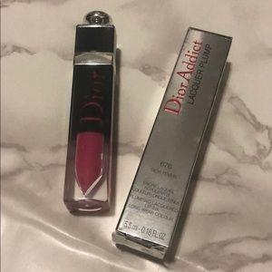 Dior Addict Lacquer Plump lip gloss 676 fever pink
